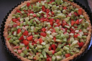Strawberry and Pepper Tart