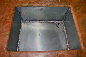 My New Zinc Sink