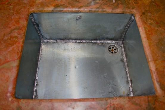 My New Zinc Sink