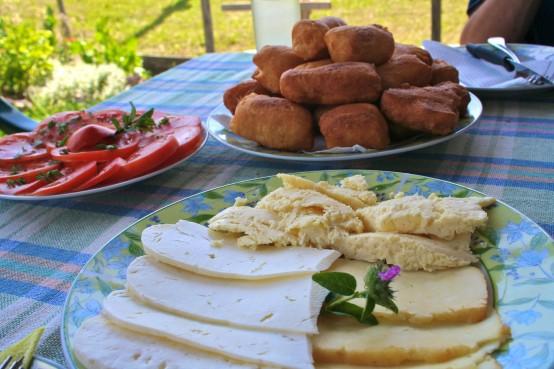Gathering Recipes outside Sarajevo