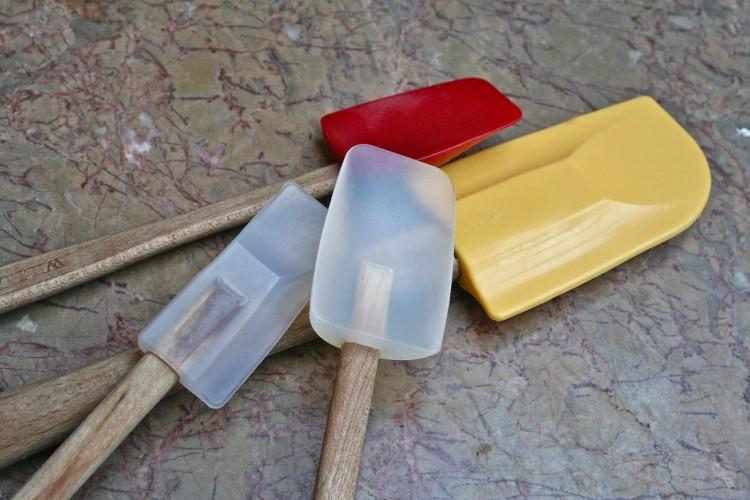 Silicon spatulas of all sizes...the very best!