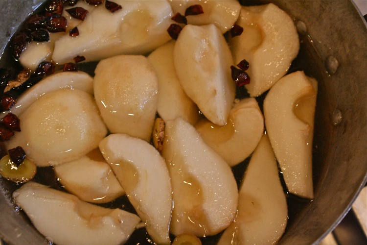 How to  Test a Recipe – Poached Pears