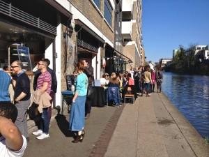 London's Towpath Café