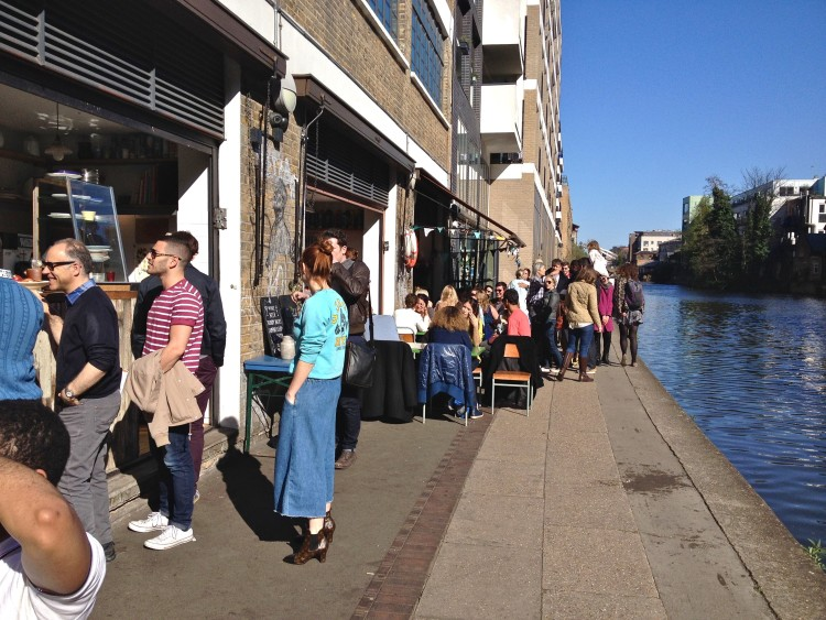 London's Towpath Café