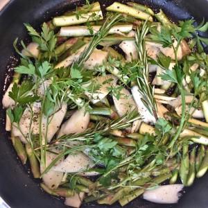 Braised Asparagus