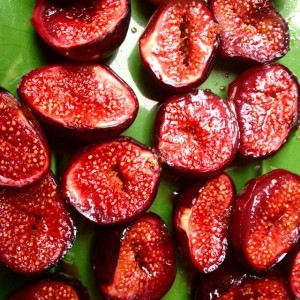 Roasted Figs to Basil