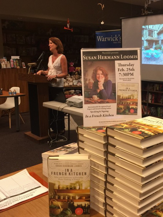 Speaking at the incredible Warwicks, a REAL , family-owned bookstore