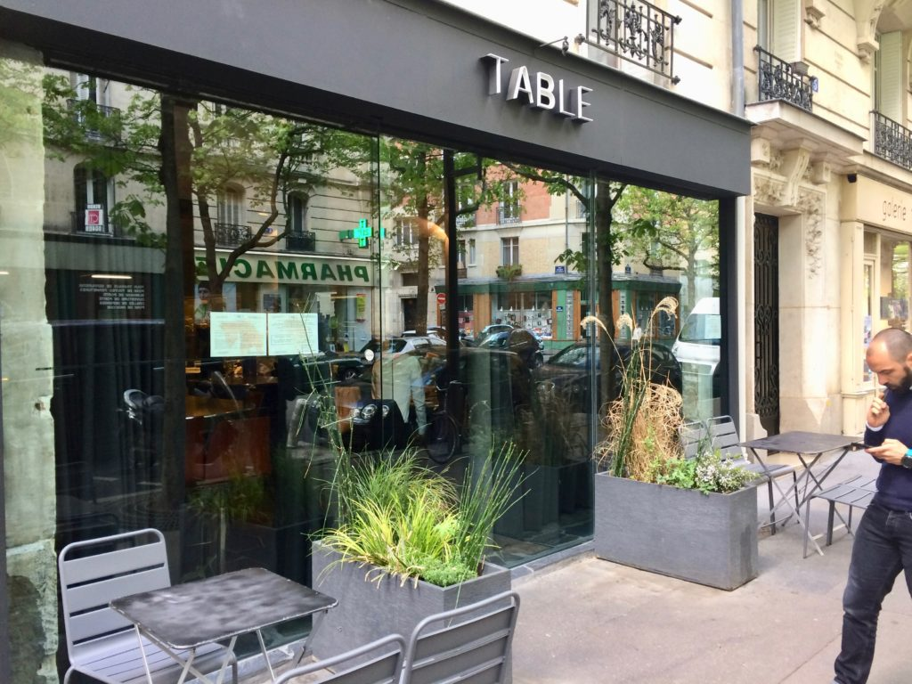 Table restaurant 12eme arrondissement Paris
