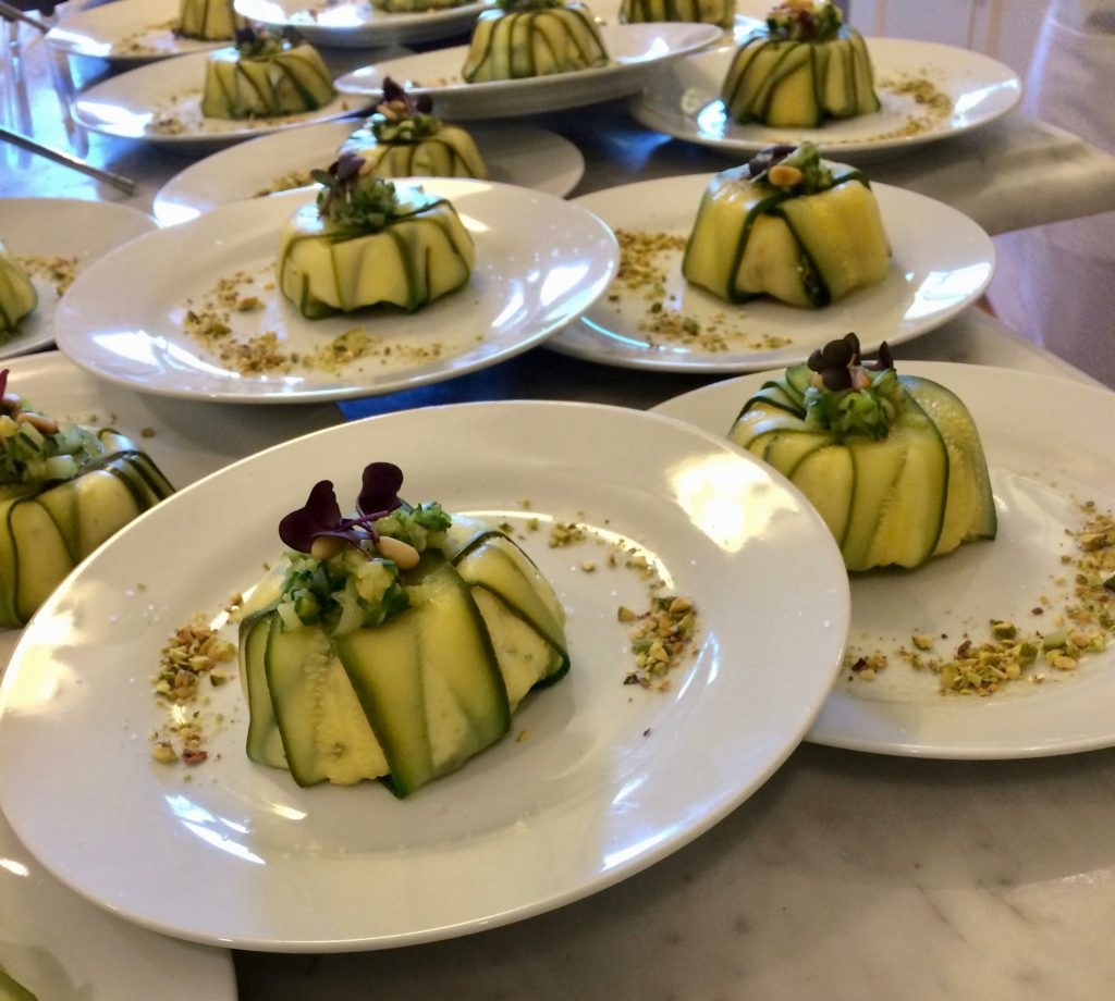 French cooking and culture zucchini and goat cheese verrines