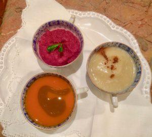 A Trio of Soups