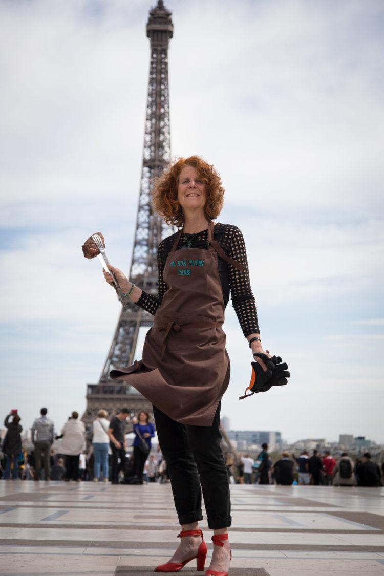 Grilling in Parisian Traffic