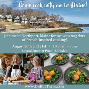 Bringing France to Maine in August