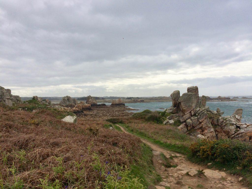 wild rocky Brittany