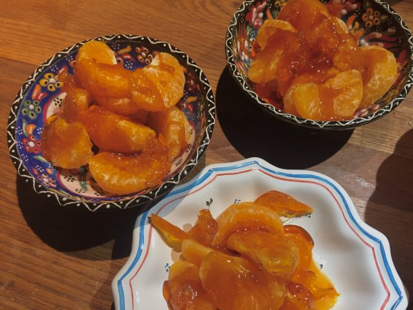 CARMELIZED ORANGES - ORANGES CARAMELISEES
